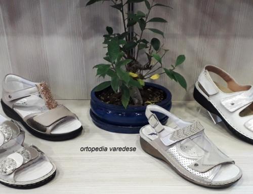 Sandali predisposti al plantare ortopedico su misura