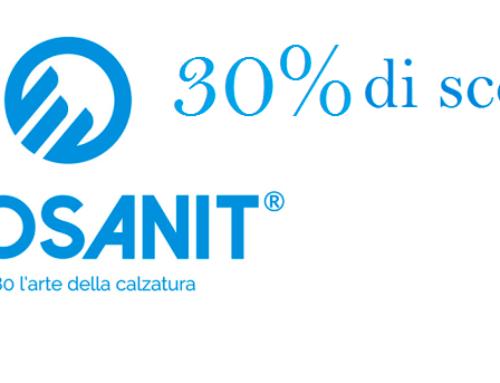 Calzature ECOSANIT scontate del 30%
