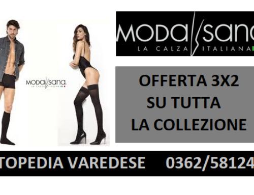 Promozione 3×2 calze elastiche MODASANA